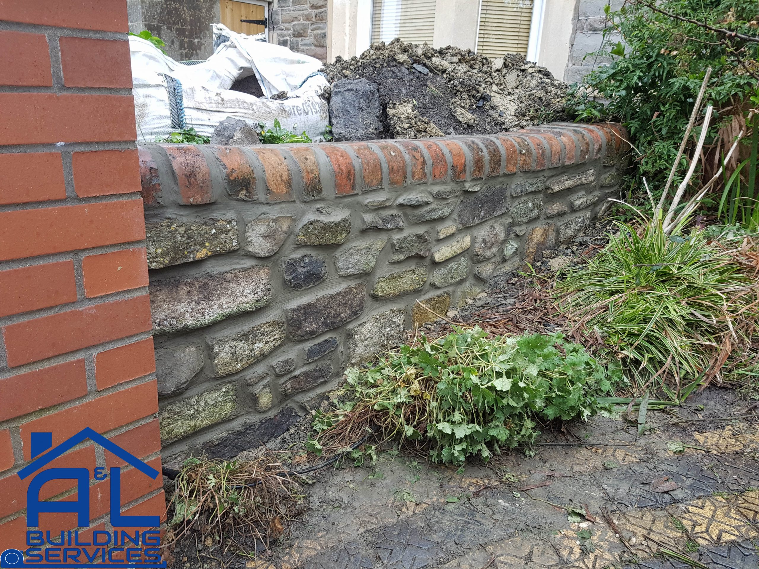 Front Garden Wall 1
